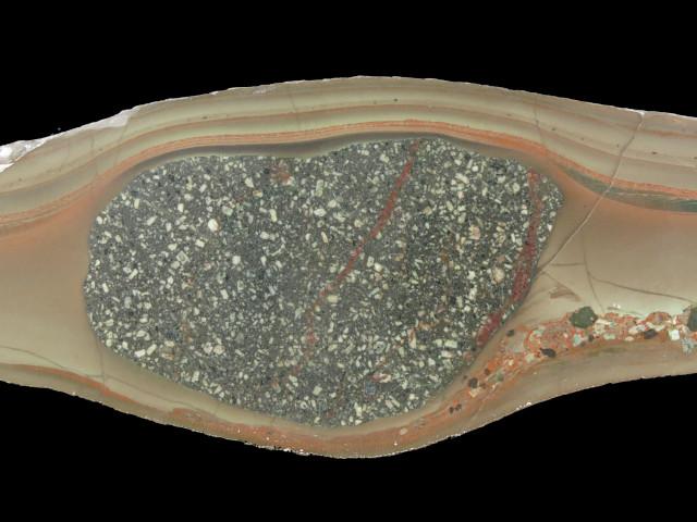 Sedimentary sample